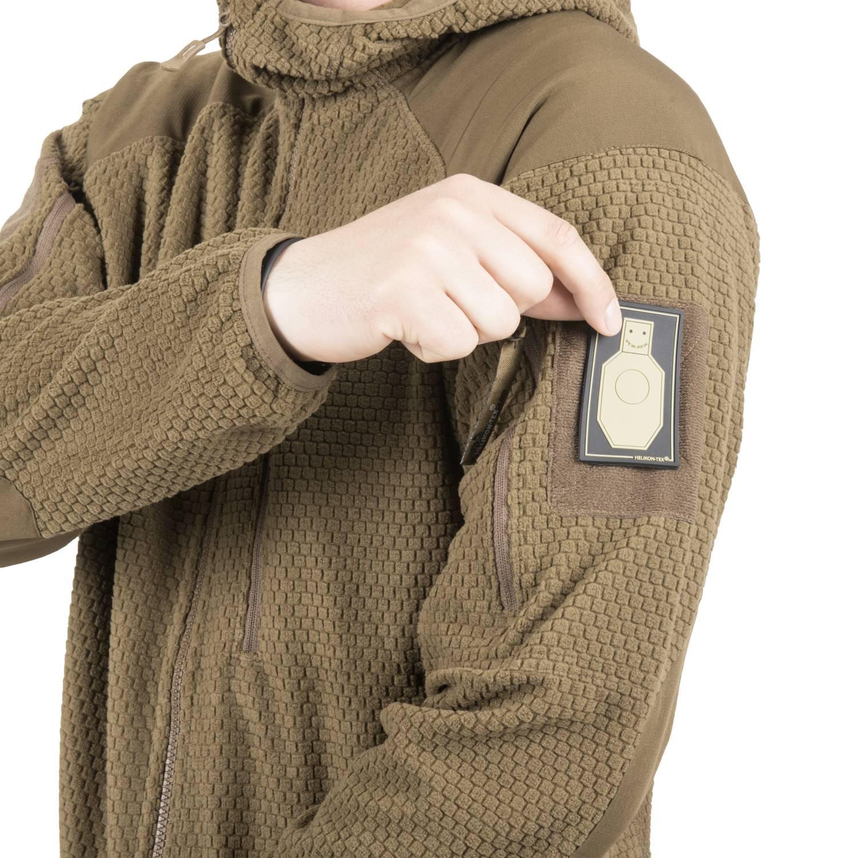 Bluza ALPHA HOODIE - Grid Fleece Detal 12
