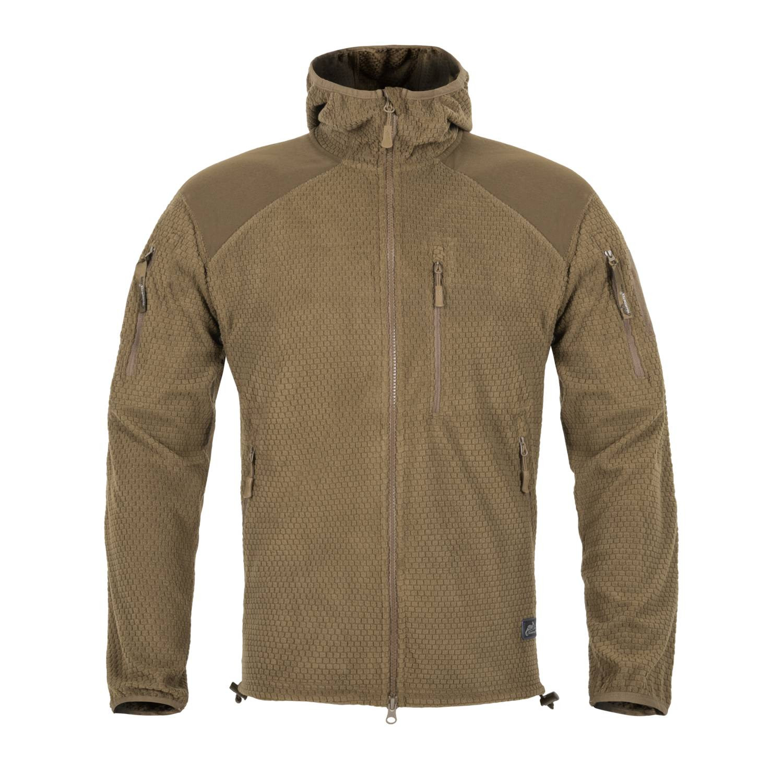 Bluza ALPHA HOODIE - Grid Fleece Detal 3