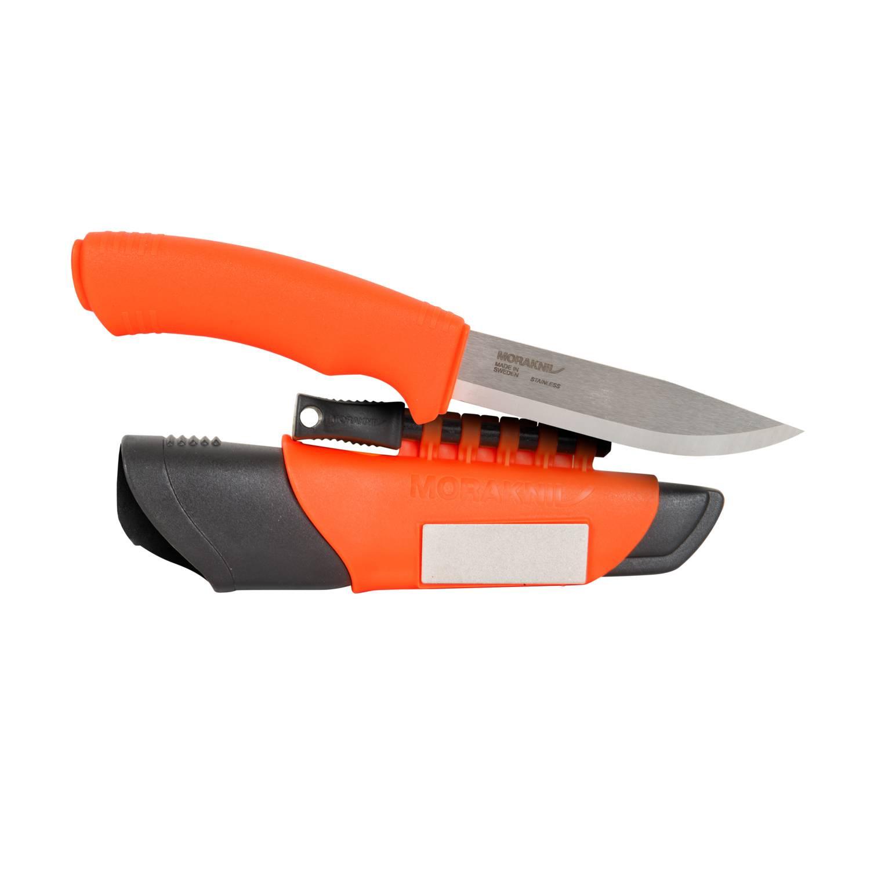 Nóż Morakniv® Bushcraft Survival Orange - Stainless Steel Detal 2