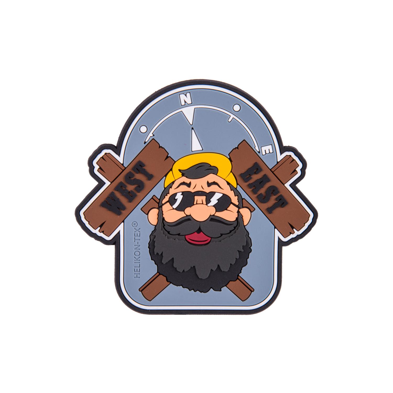"""Emblemat """"Beardman OUTBACK"""" - PVC Detal 2"""