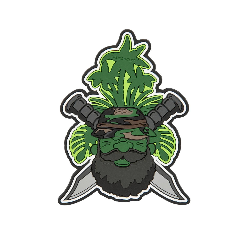 "Emblemat ""Beardman PATROL"" Detal 2"