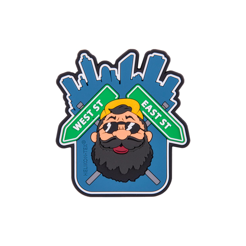"Emblemat ""Beardman URBAN"" - PVC Detal 2"
