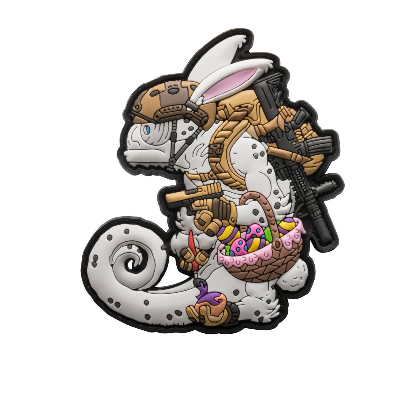 Emblemat Chameleon Easter Operator Detal 2