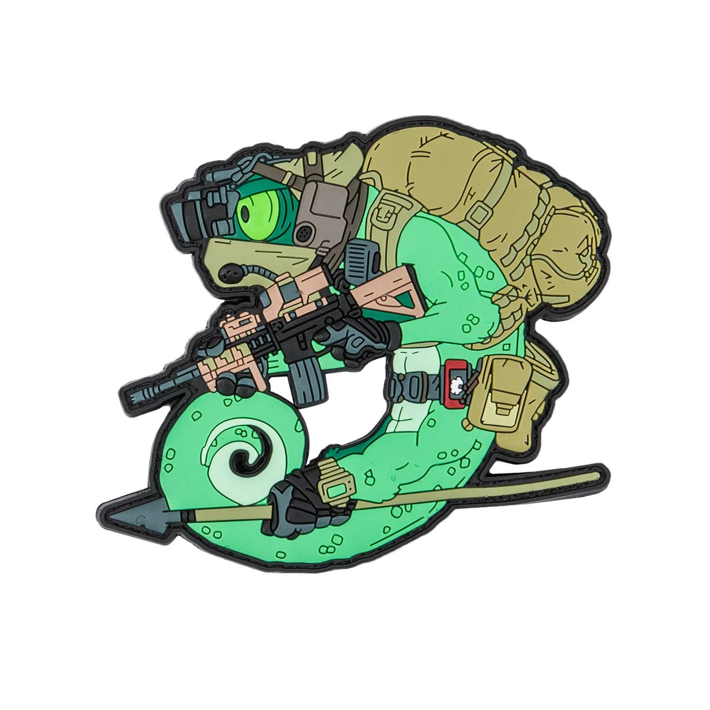 Emblemat Chameleon Operator Detal 2