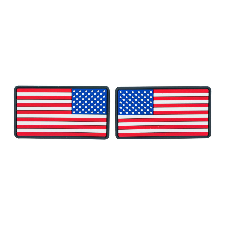 Emblemat FLAGA USA Duża  (komplet - 2szt.) - PVC Detal 2