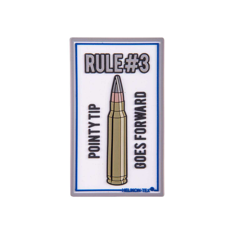 """Emblemat """"Rule#3"""" - PVC Detal 2"""