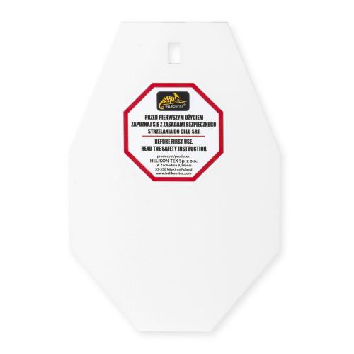 Płyta SRT Small ALPHA Target® - Hardox 600 Steel - Biały Detal 1
