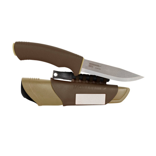 Nóż Morakniv® Bushcraft Survival  - Stainless Steel Detal 1
