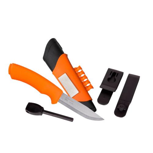 Nóż Morakniv® Bushcraft Survival Orange - Stainless Steel Detal 3