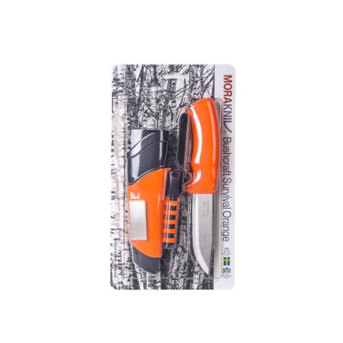 Nóż Morakniv® Bushcraft Survival Orange - Stainless Steel Detal 12