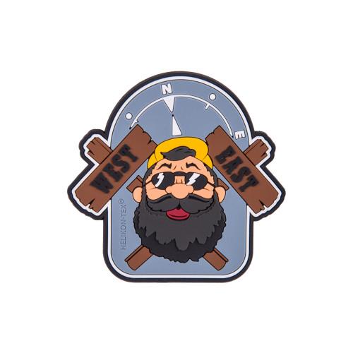 """Emblemat """"Beardman OUTBACK"""" - PVC Detal 1"""