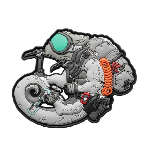 Emblemat Arctic Chameleon Detal 1