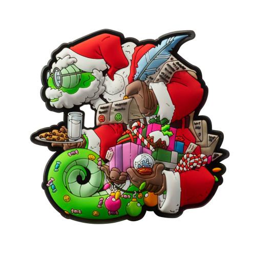 Emblemat Chameleon Christmas Detal 1