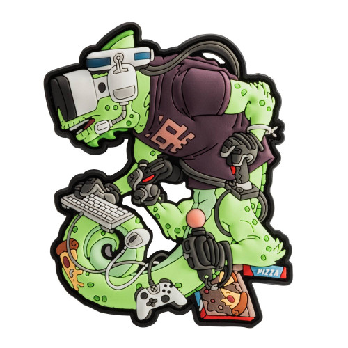 Emblemat Chameleon Gamer Operator Detal 1