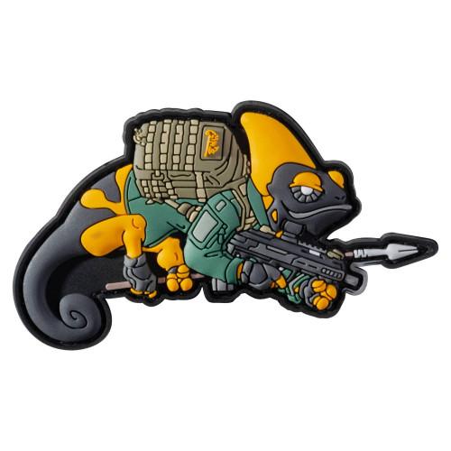 Emblemat Chameleon Patrol Line Exclusive Detal 1