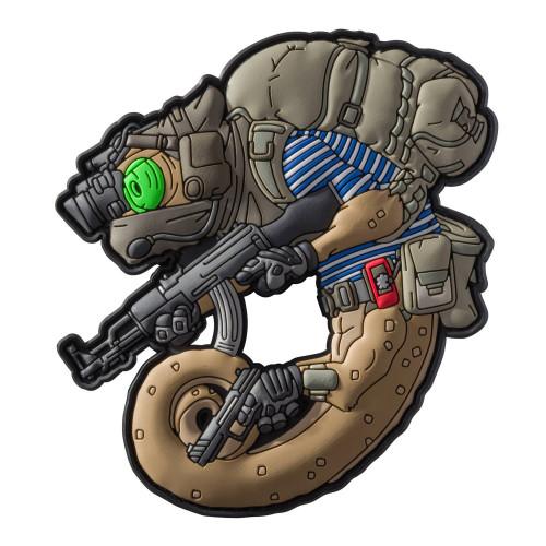 Emblemat Chameleon Russian Detal 1