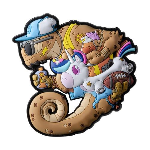 Emblemat Chameleon Summer OPS Detal 1