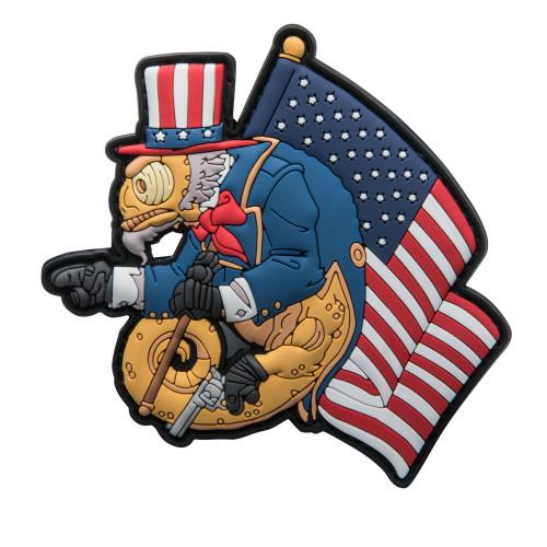 Emblemat Chameleon Uncle Cham Operator Detal 1