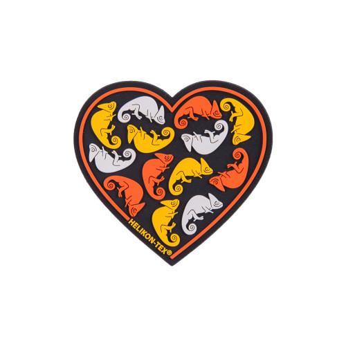 """Emblemat """"Heart"""" - PVC Detal 1"""