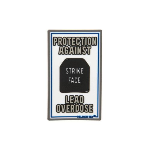 "Emblemat ""Lead Overdose"" Detal 1"