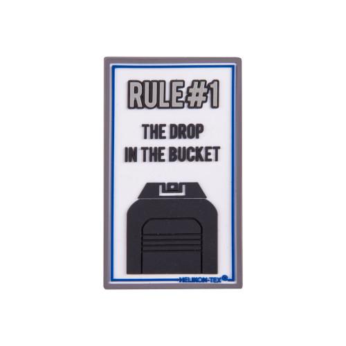 """Emblemat """"Rule#1"""" - PVC Detal 1"""