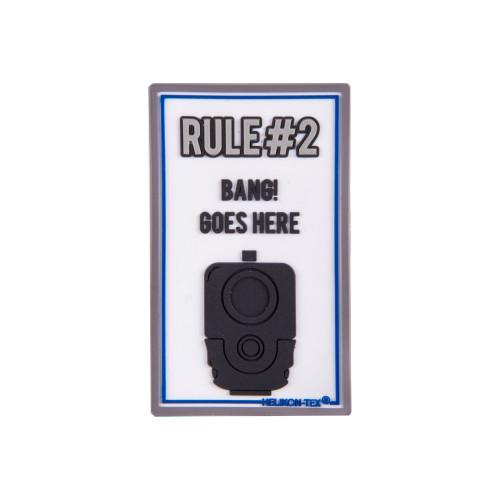 """Emblemat """"Rule#2"""" - PVC Detal 1"""