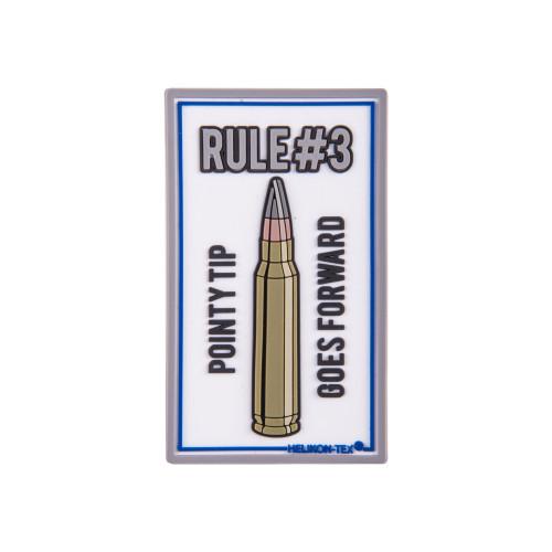 """Emblemat """"Rule#3"""" - PVC Detal 1"""