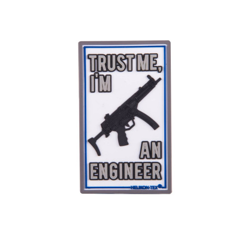 "Emblemat ""Trust Me Im An Engineer"" Detal 1"