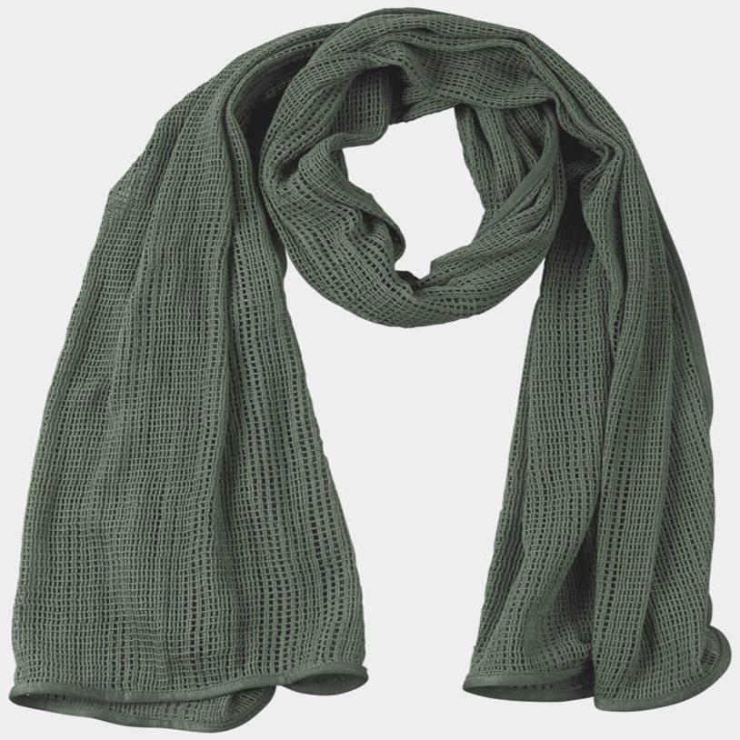 Szal SORGO - Foliage Green Detal 1