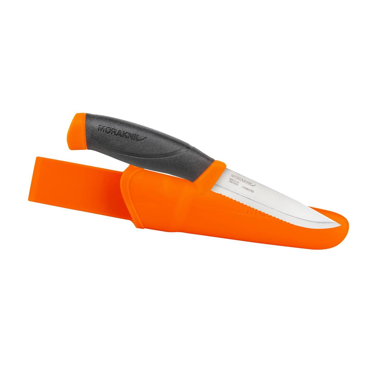 Nóż Morakniv® Companion F Serrated - Stainless Steel Detal 1