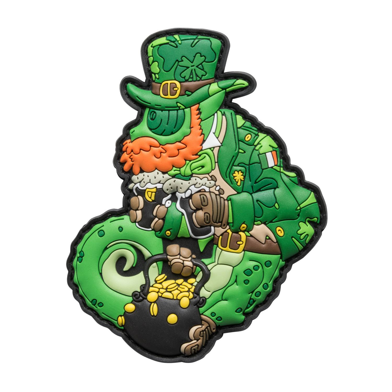 Emblemat Chameleon St. Paddy Detal 1