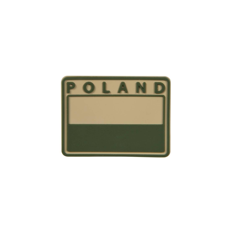 Emblemat FLAGA PL Gaszona POLAND