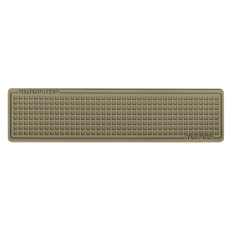 Emblemat Tag Patch 100x25mm (komplet - 3szt.) - PVC Detal 1