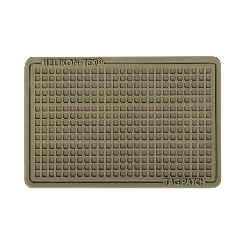 Emblemat Tag Patch 60x40mm (komplet - 3szt.) - PVC Detal 1