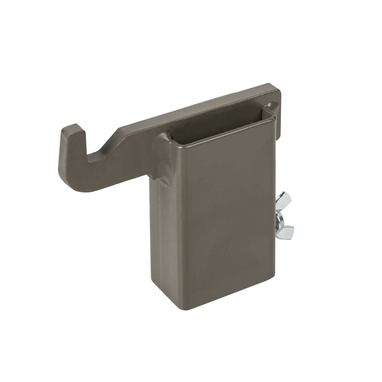 Hak mocujący SRT Target Mounting Hook®  - Hardox 600 Steel - Brown Grey Detal 1