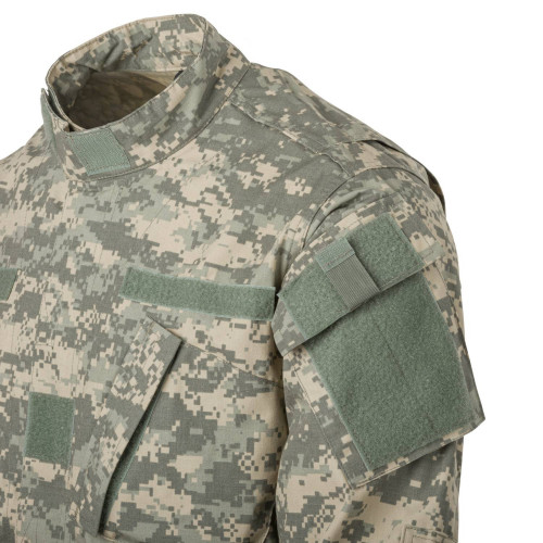 ACU Shirt - PolyCotton Ripstop Detail 6