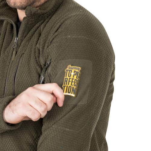 ALPHA TACTICAL Jacket - Grid Fleece Detail 8