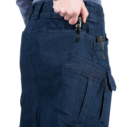 UTL SKIRT® (Urban Tactical Skirt®) - Denim Mid Detail 8