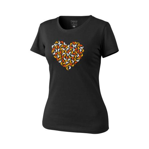 WOMEN'S T-Shirt (Chameleon Heart) Detail 1