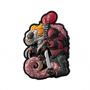 Emblemat Chameleon Halloween