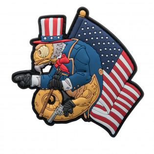 Emblemat Chameleon Uncle Cham Operator