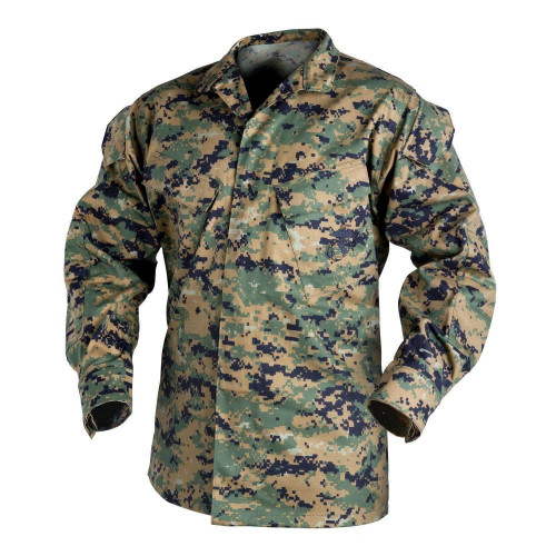 USMC Shirt - PolyCotton Twill Detail 1