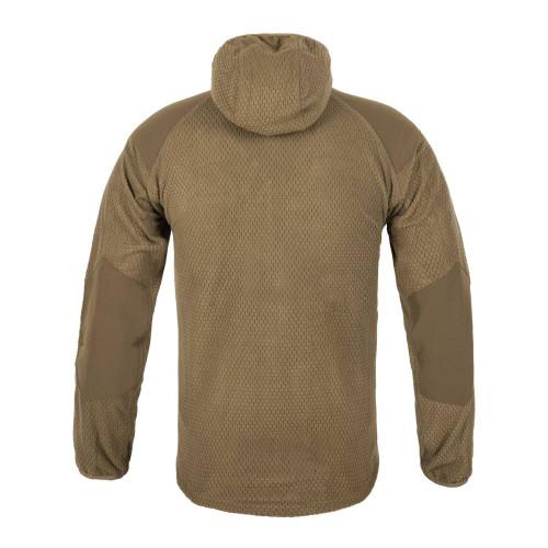 ALPHA HOODIE Jacket - Grid Fleece Detail 4