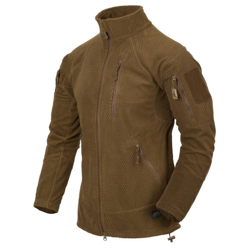 ALPHA TACTICAL Jacket - Grid Fleece Detail 1