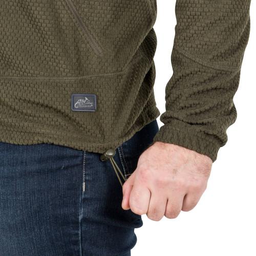 ALPHA TACTICAL Jacket - Grid Fleece Detail 6