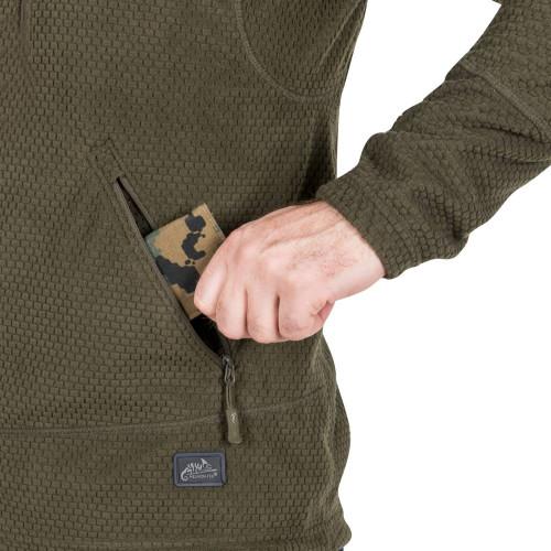 ALPHA TACTICAL Jacket - Grid Fleece Detail 7
