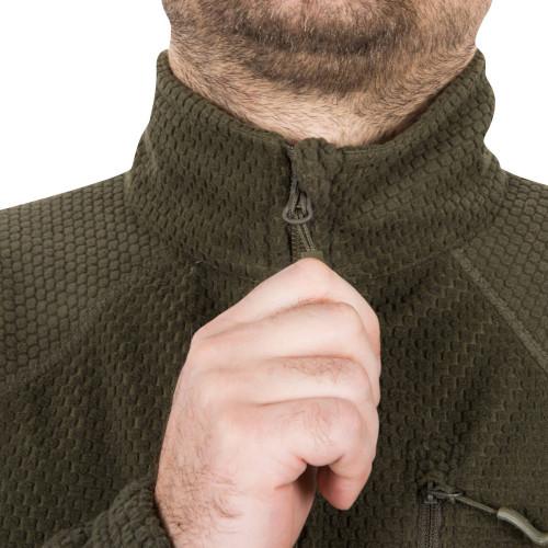 ALPHA TACTICAL Jacket - Grid Fleece Detail 12