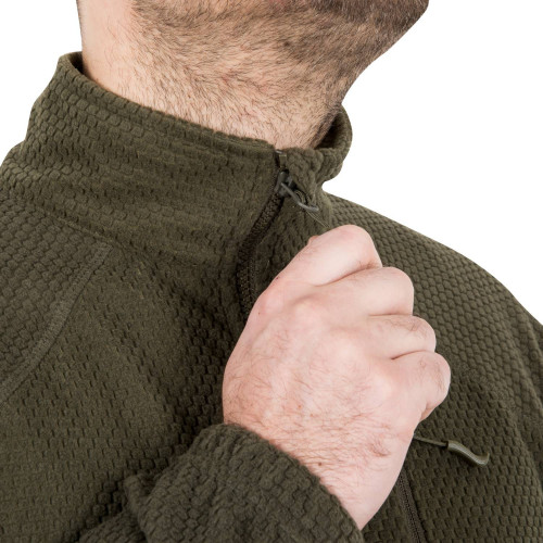 ALPHA TACTICAL Jacket - Grid Fleece Detail 13