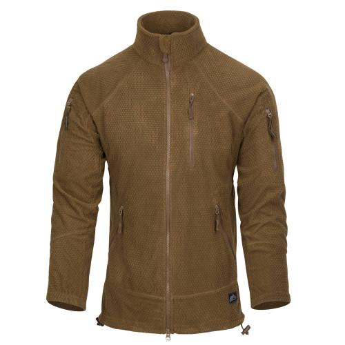 ALPHA TACTICAL Jacket - Grid Fleece Detail 3
