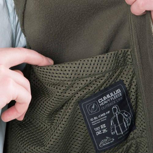 CUMULUS® Jacket - Heavy Fleece Detail 5